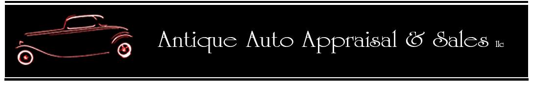 Antique Auto Appraisal & Sales
