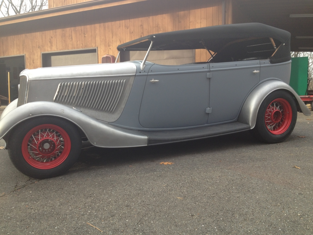 1933 Ford Phaeton – Finished | Antique Auto Appraisal & Sales